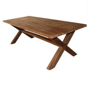 kruispoot-antiek-teak-hout